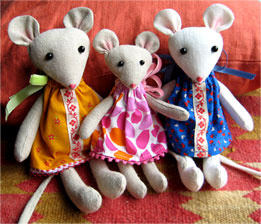 Mouse dolls