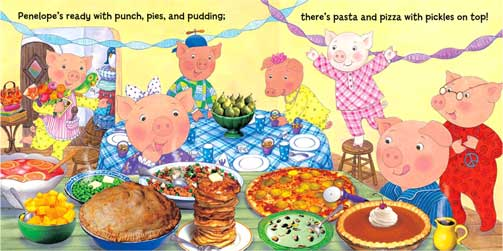 Pigs in Pajamas by Maggie Smith, author and illustrator