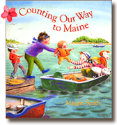Counting Our Way to Maine, a book written and illustrated by Maggie Smith