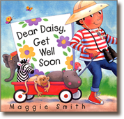 Dear Daisy Get Well Soon, a book written and illustrated by Maggie Smith