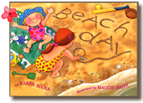 Beach Day, a book illustrated by Maggie Smith