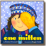 One Mitten, a book illustrated by Maggie Smith