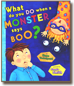 What Do You Do When a Monster Says Boo, a book illustrated by Maggie Smith