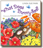 What Does Bunny See?, a book illustrated by Maggie Smith